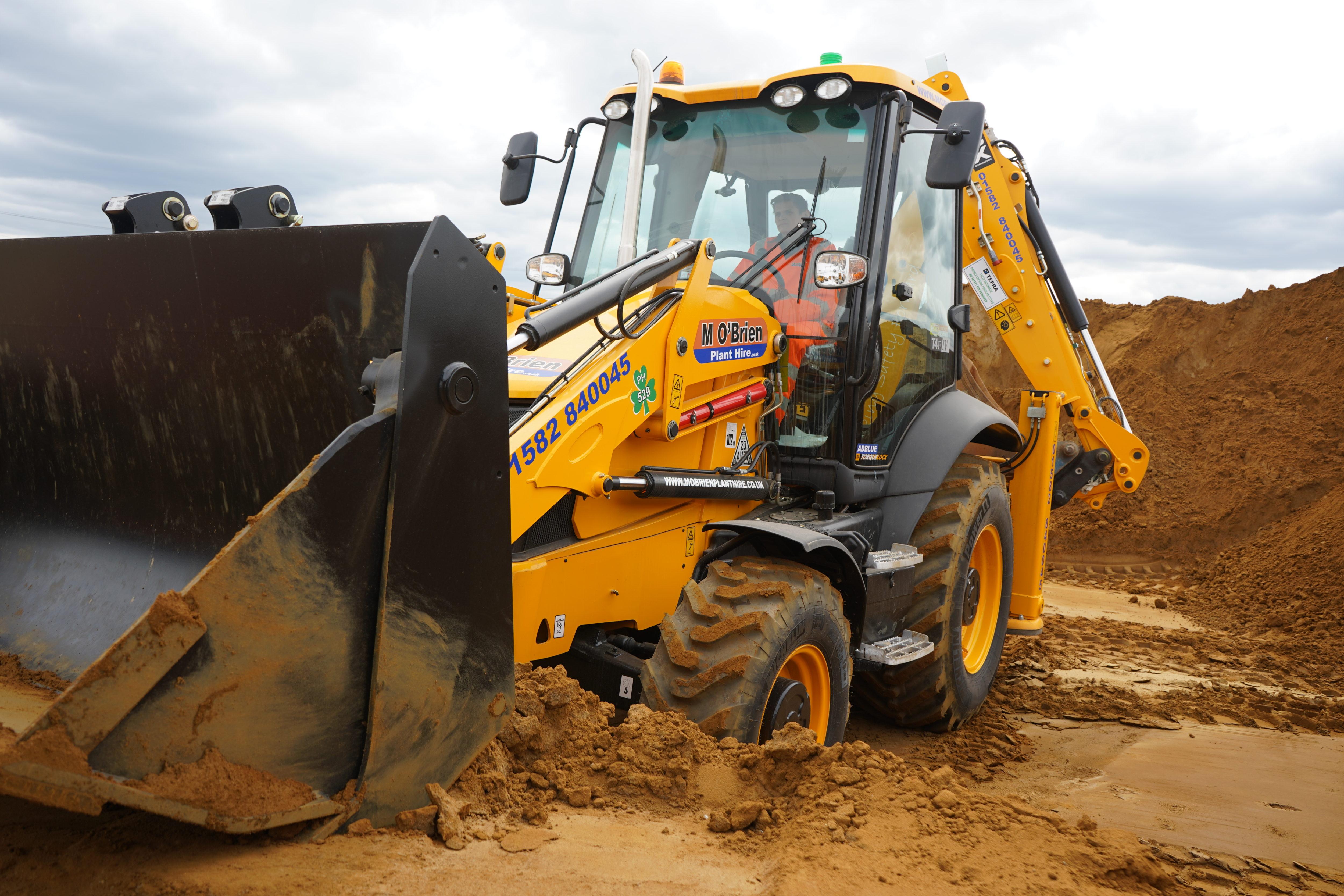 JCB 3CX (Wheeled Backhoe Excavator) | M O'Brien Plant Hire