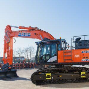 Tier 4 ZX490/6 excavator